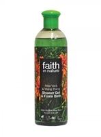 Bilde av Faith  Aloe Vera & Ylang Ylang Shower Gel/Foam Bath