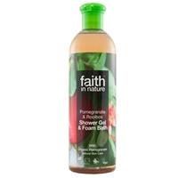 Bilde av Faith Pomegranate & Rooibos Shower Gel/Foam Bath