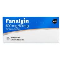 Bilde av Fanalgin Tabletter 500mg/50mg