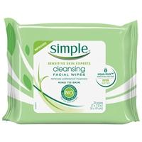 Bilde av Simple Cleansing Facial Wipes