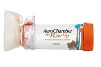 Bilde av AeroChamber Plus Flow-Vu With Small Mask 0-18mnd