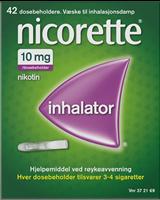 Bilde av Nicorette inhalator 10mg/dose - 42 doser